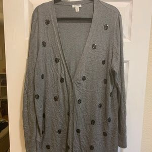 Old Navy Sequin Dot Cardigan